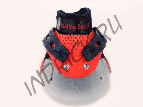Ботинки Floating Boots, красный + прозрачный